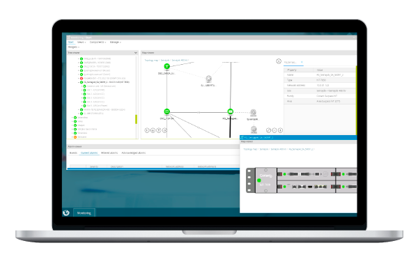 Detect failures and simplify operational screen SGRwin